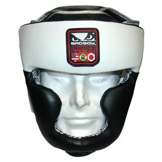 Bad Boy Bad Boy Pro Series Headgear - Black/White